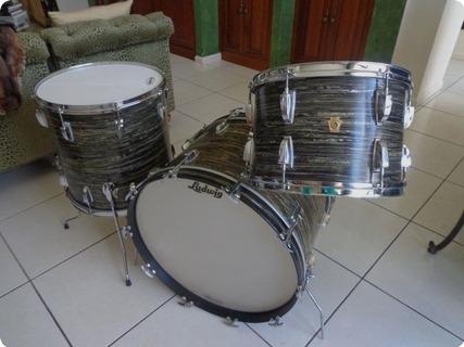 ludwig beatle drum set 1968 black oyster pearl finish drum for sale guitarbroker. Black Bedroom Furniture Sets. Home Design Ideas