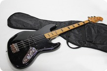 Greco Jazz Bass 1982 Black