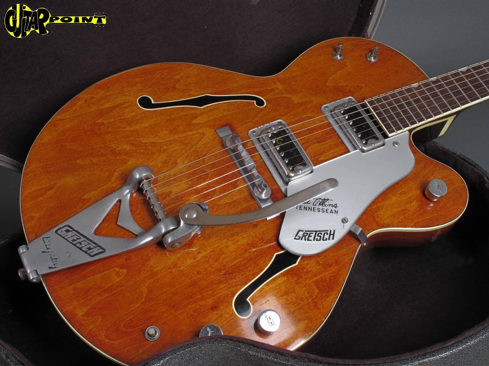 Gretsch 6119 Chet Atkins Tennessean 1967 Natural Guitar