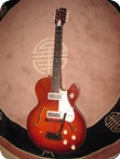Harmony Rocket H56 1966 Red Sunburst