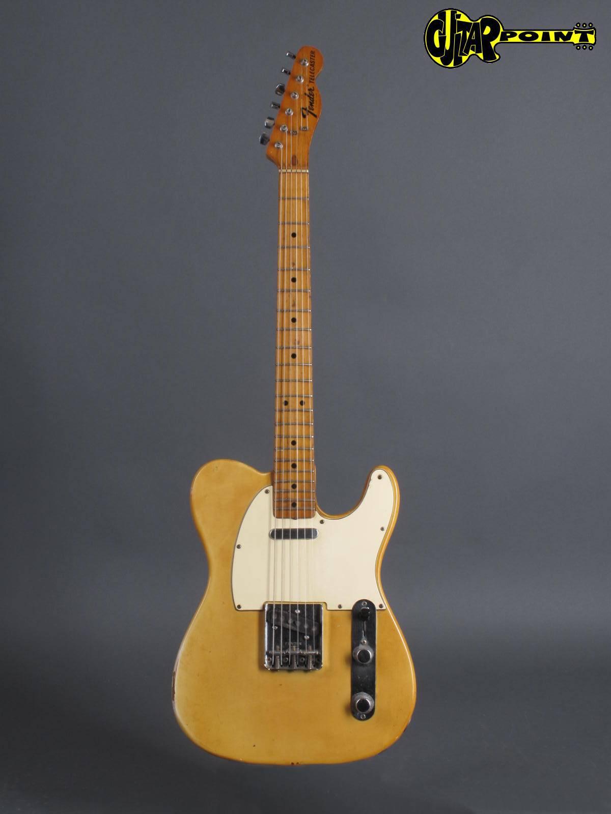 fender telecaster 1972 blond guitar for sale guitarpoint. Black Bedroom Furniture Sets. Home Design Ideas