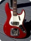 Fender Jazz Bass 1971 Candy Apple Red Metallic