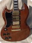 Gibson SG CUSTOM Lefty 1974 Walnut