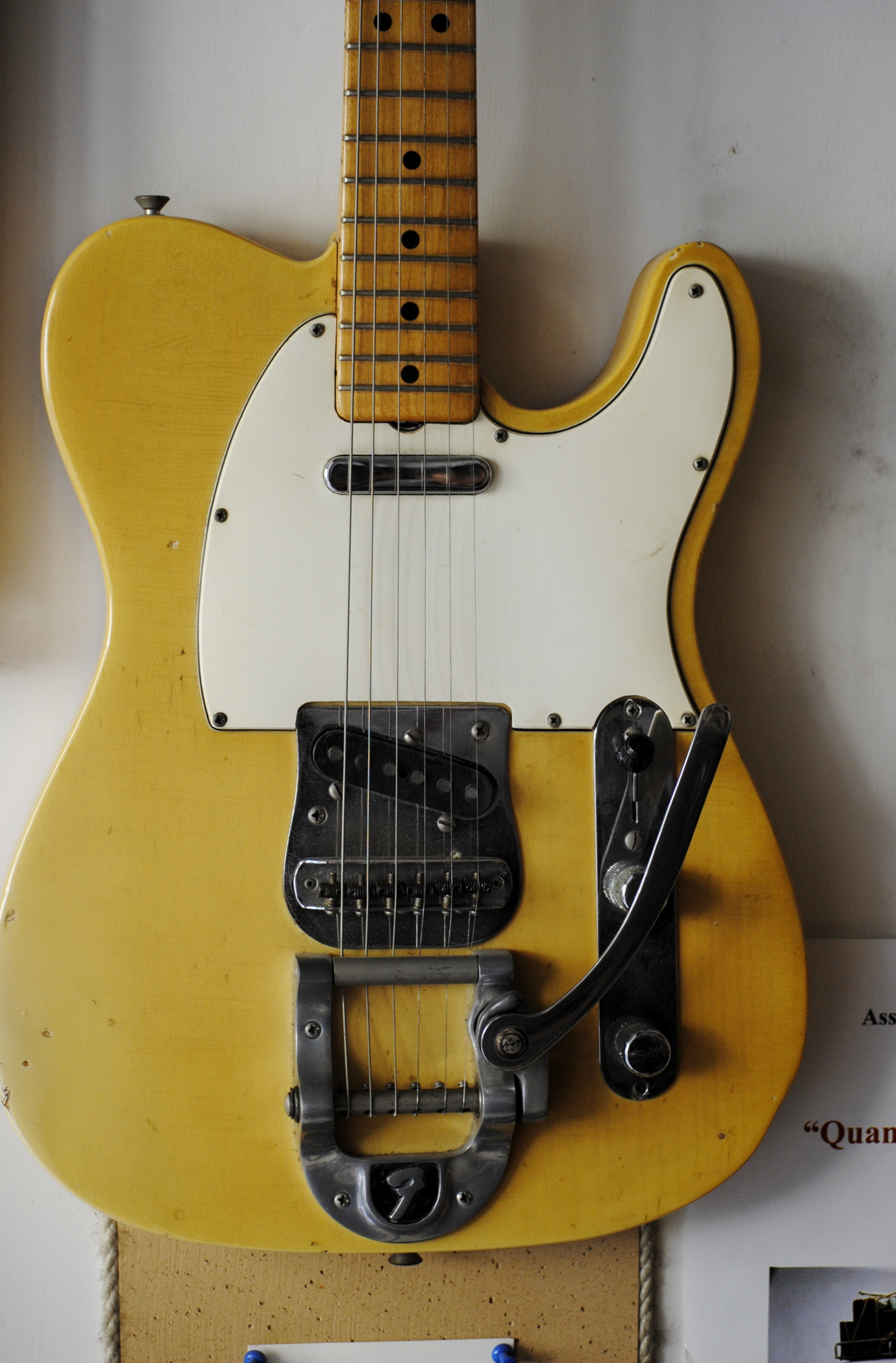 fender telecaster 1969 blonde guitar for sale rome vintage guitars. Black Bedroom Furniture Sets. Home Design Ideas