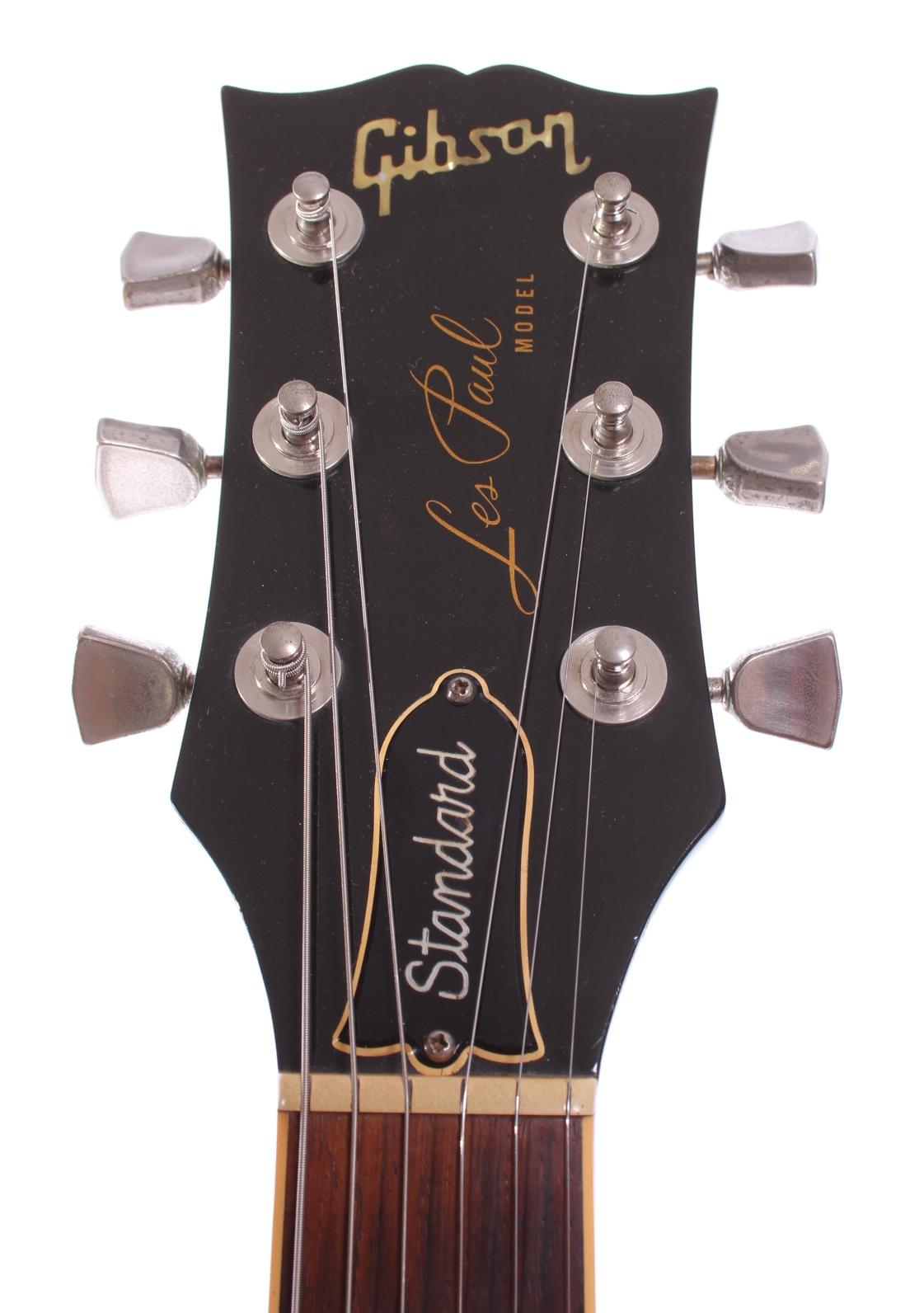 gibson les paul standard 1980 ebony guitar for sale yeahman 39 s guitars. Black Bedroom Furniture Sets. Home Design Ideas