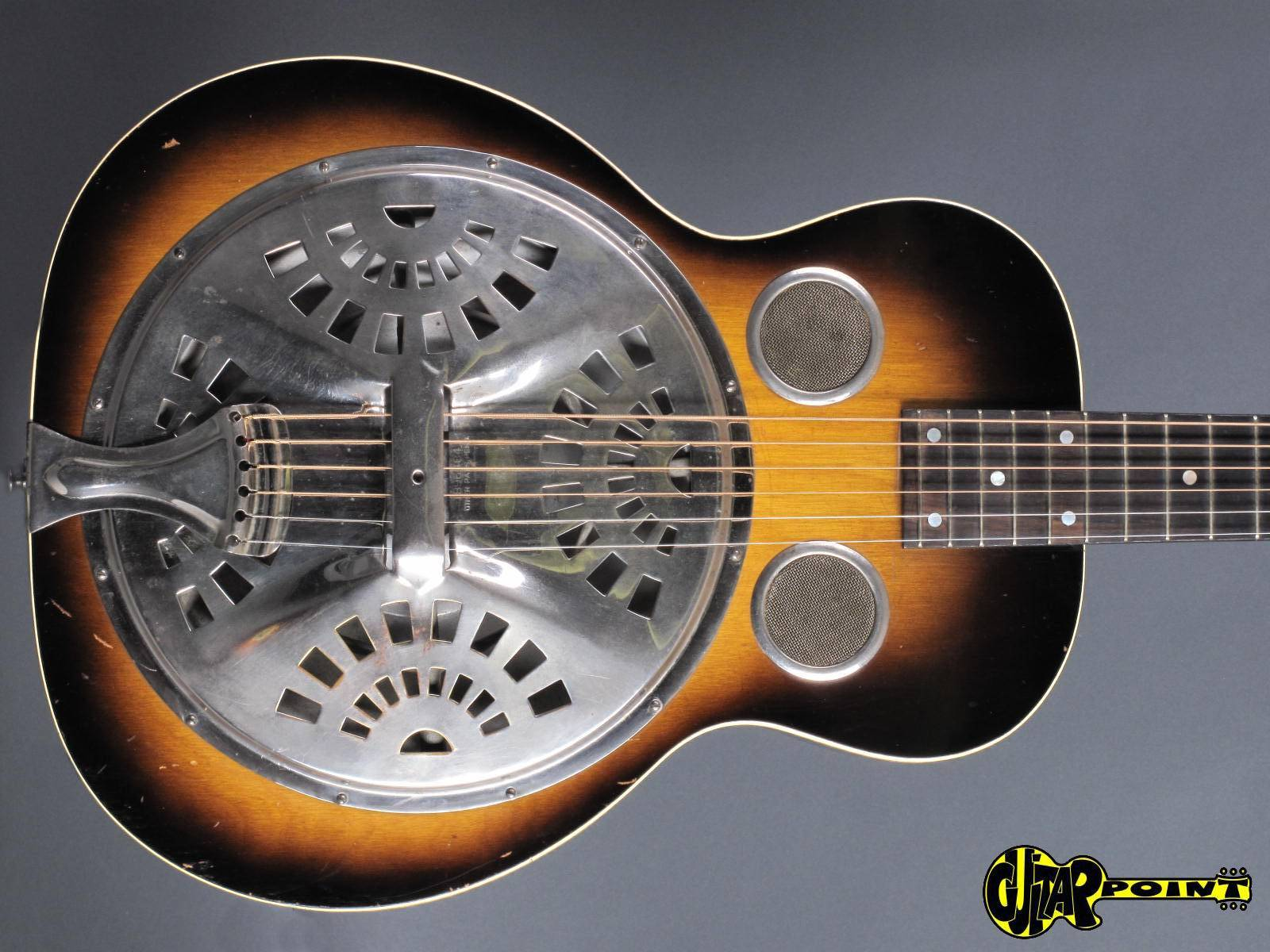 dobro model 27 1936 sunburst guitar for sale guitarpoint. Black Bedroom Furniture Sets. Home Design Ideas