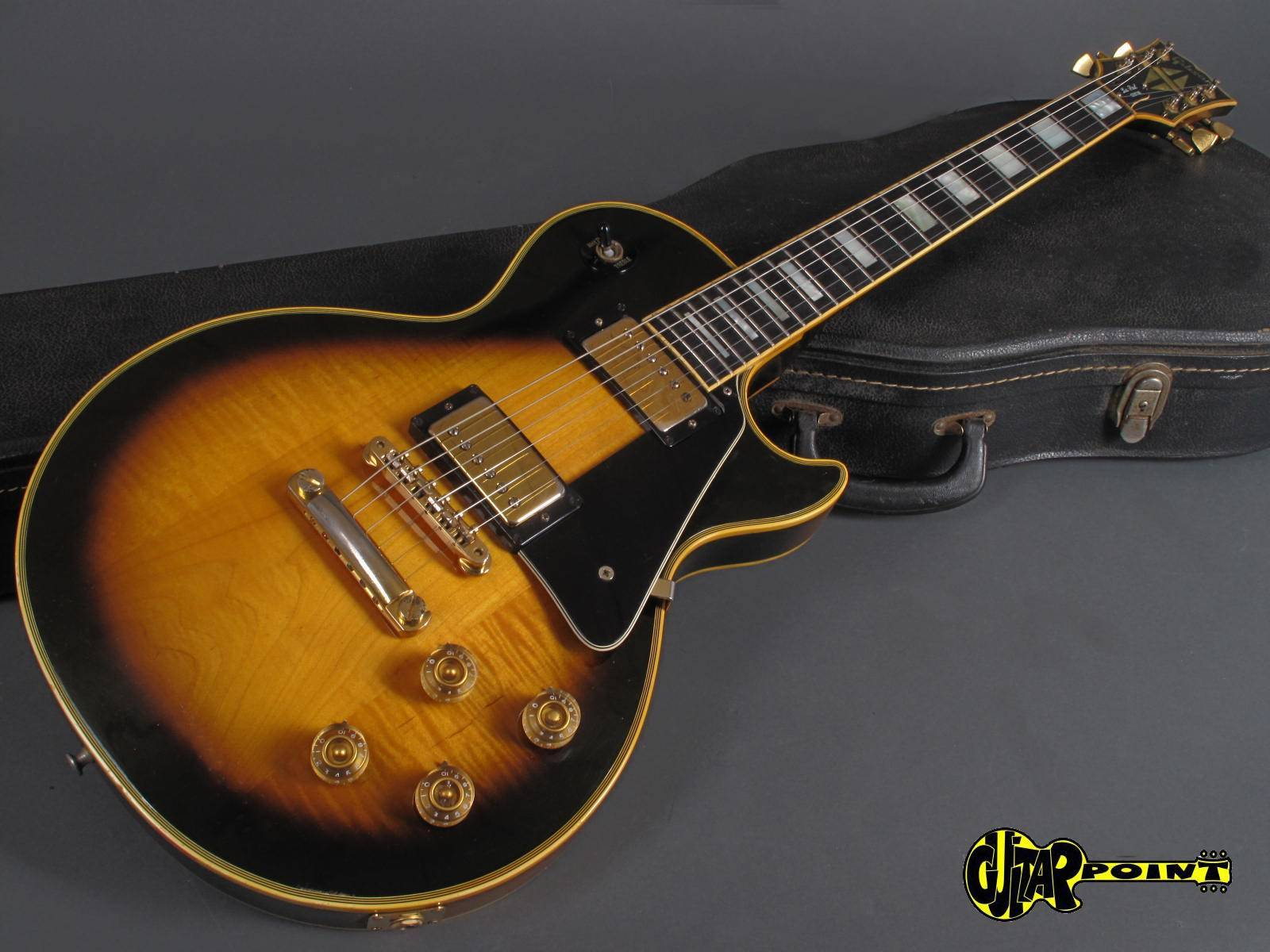 1974 Les Paul Custom : gibson les paul custom 1974 tobacco sunburst guitar for sale guitarpoint ~ Hamham.info Haus und Dekorationen