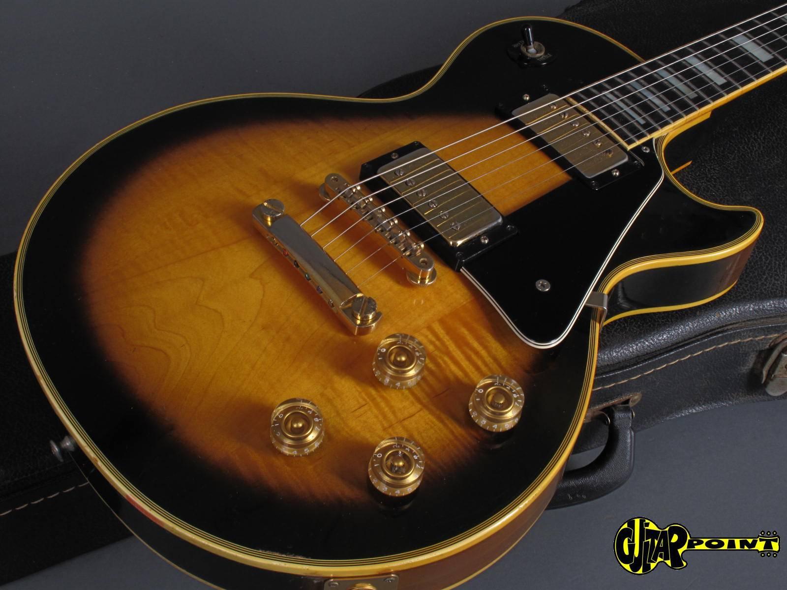 gibson les paul custom 1974 tobacco sunburst guitar for sale guitarpoint. Black Bedroom Furniture Sets. Home Design Ideas