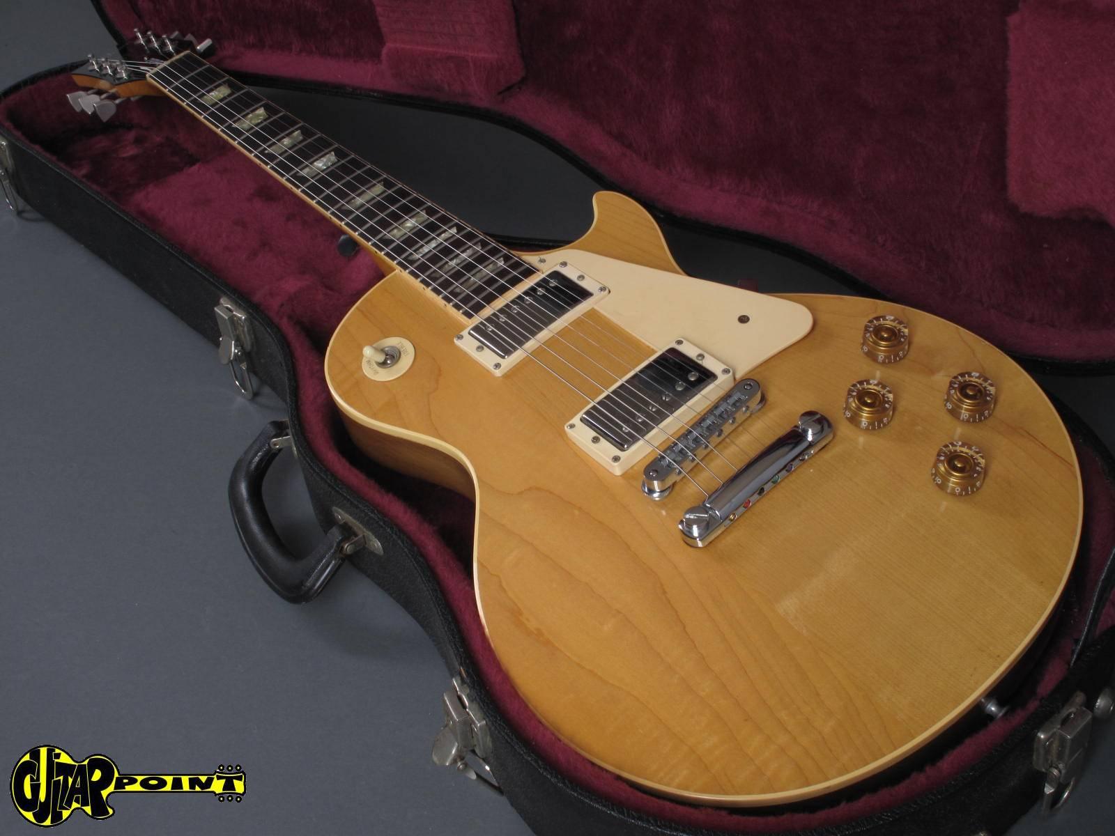 gibson les paul standard 1978 natural guitar for sale guitarpoint. Black Bedroom Furniture Sets. Home Design Ideas