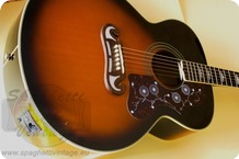 Epiphone EJ 200 NON Cutaway First Model NON Cutaway Amplified With LC 5 EJ200 Hardcase Included 2010 Sunburst