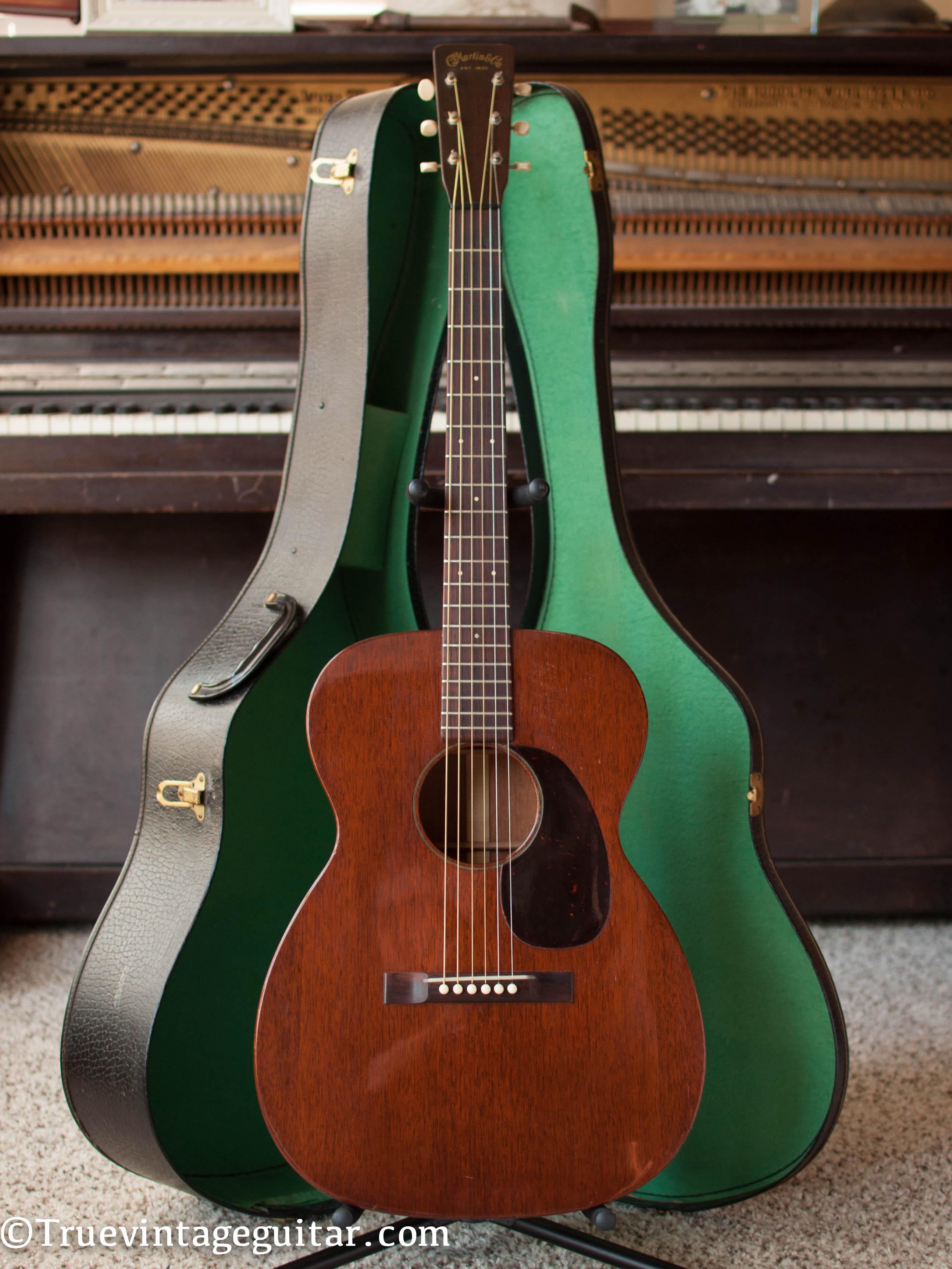 martin 00 17 1954 guitar for sale true vintage guitar. Black Bedroom Furniture Sets. Home Design Ideas