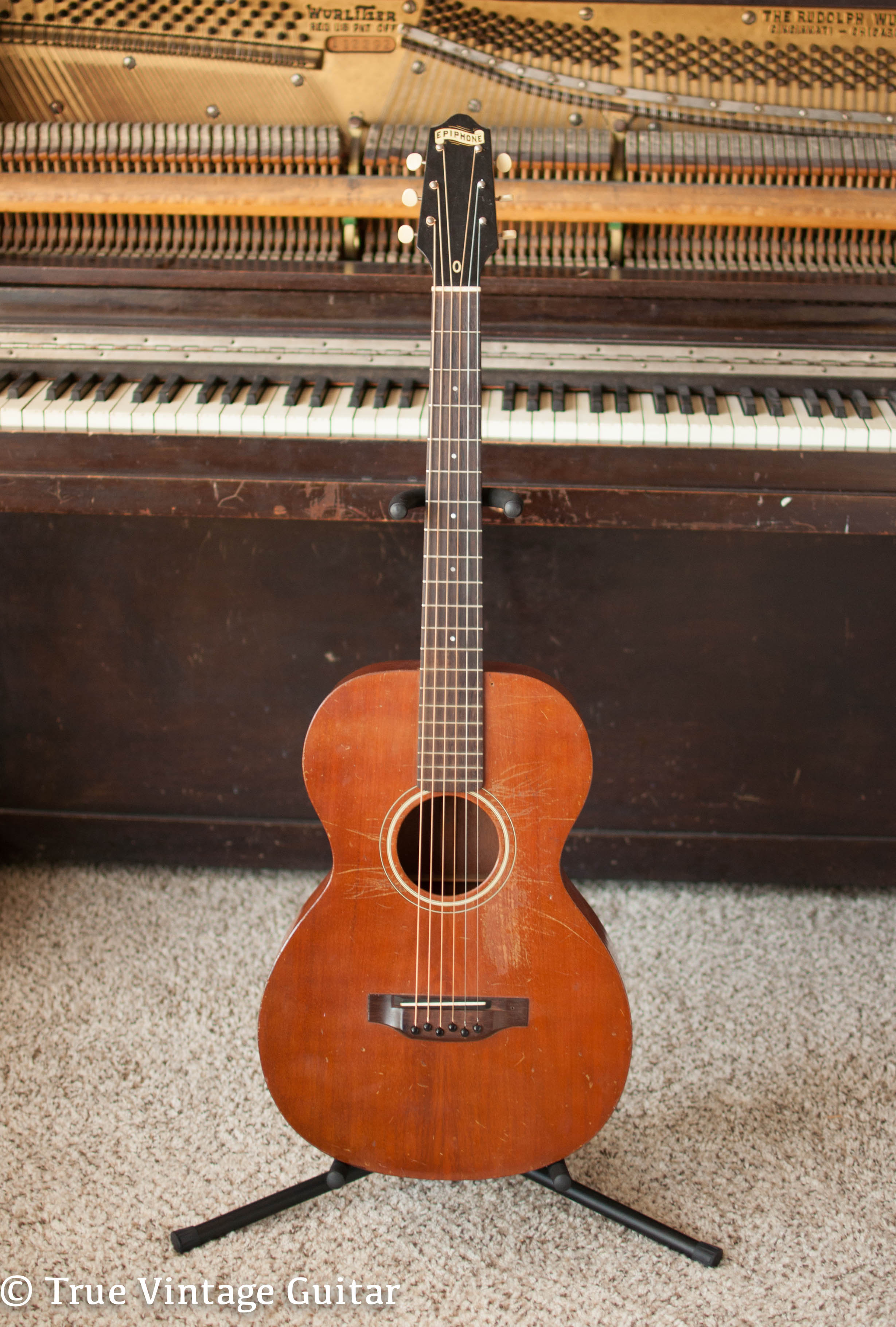 how to find epiphone model number