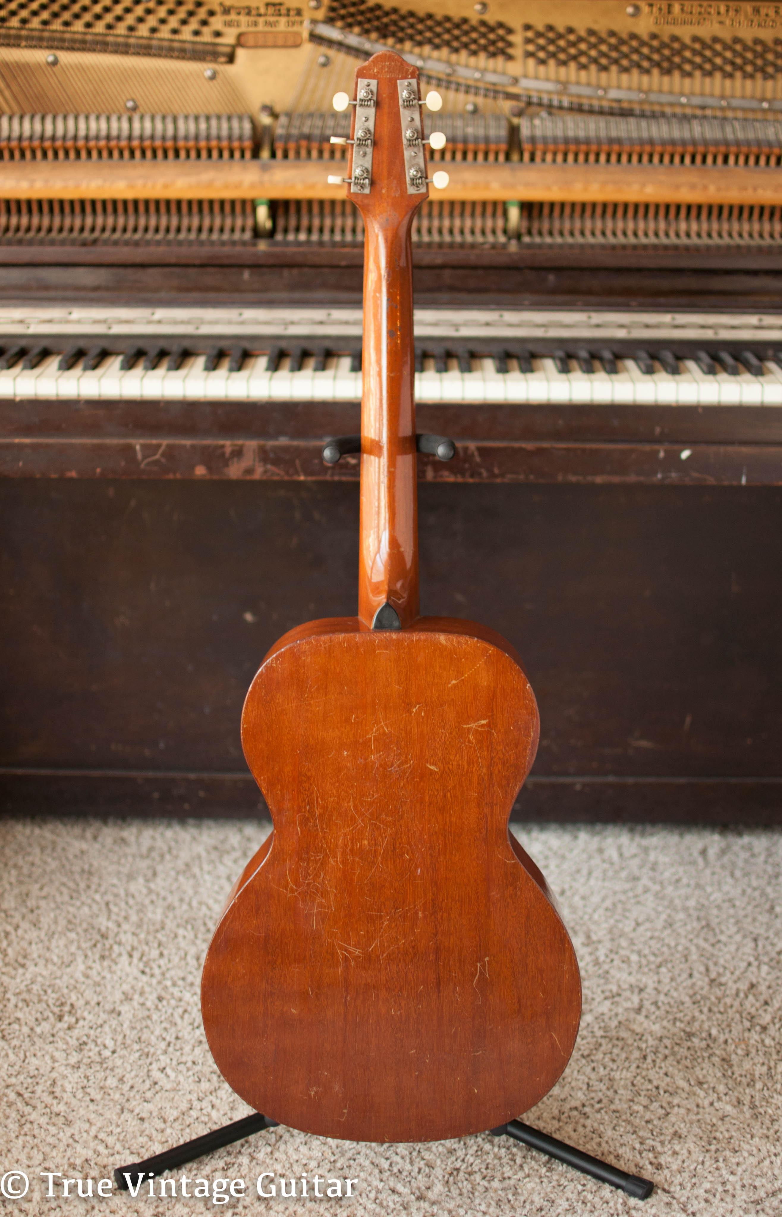 epiphone seville model 0 1930 guitar for sale true vintage guitar. Black Bedroom Furniture Sets. Home Design Ideas