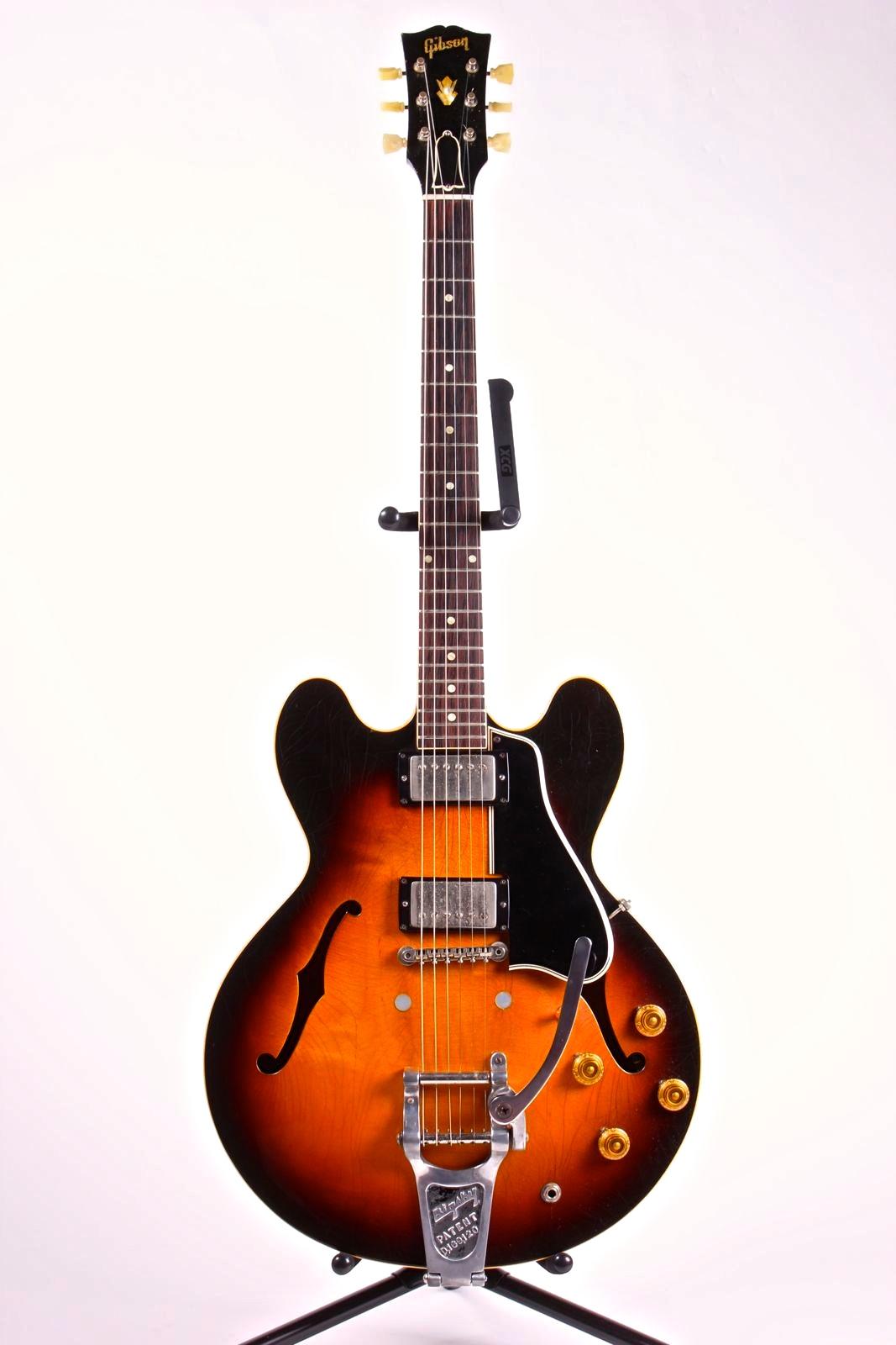 gibson es 335 1959 sunburst guitar for sale vintage guitar boutique. Black Bedroom Furniture Sets. Home Design Ideas