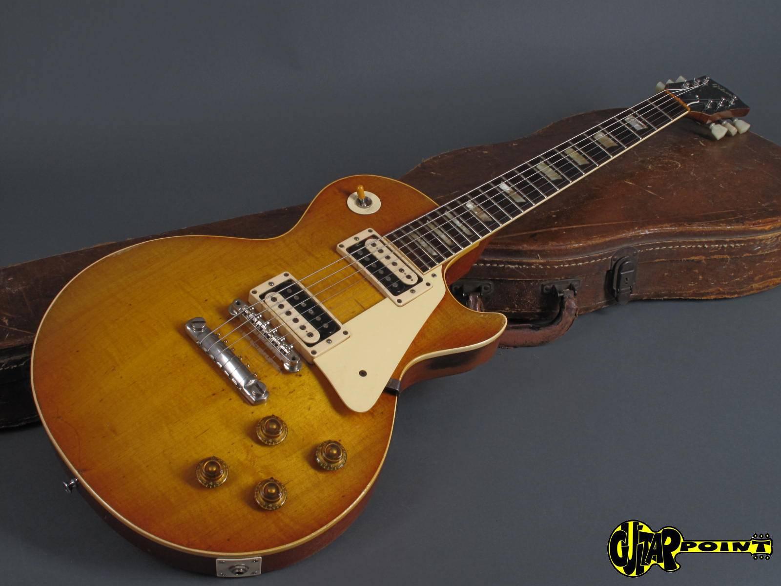 gibson les paul standard 1958 sunburst guitar for sale guitarpoint. Black Bedroom Furniture Sets. Home Design Ideas