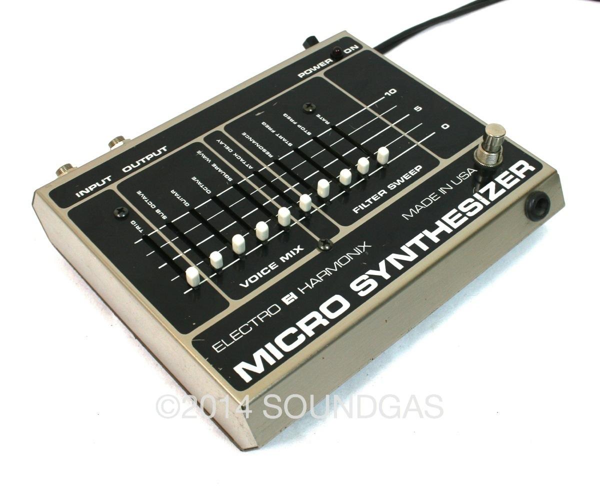 electro harmonix micro synth 1980 39 s effect for sale soundgas ltd. Black Bedroom Furniture Sets. Home Design Ideas