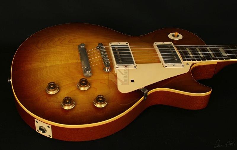 gibson les paul standard 1959 sunburst guitar for sale ten guitars. Black Bedroom Furniture Sets. Home Design Ideas