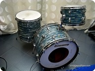 Super Classic Ludwig 1970 Blue Oyster