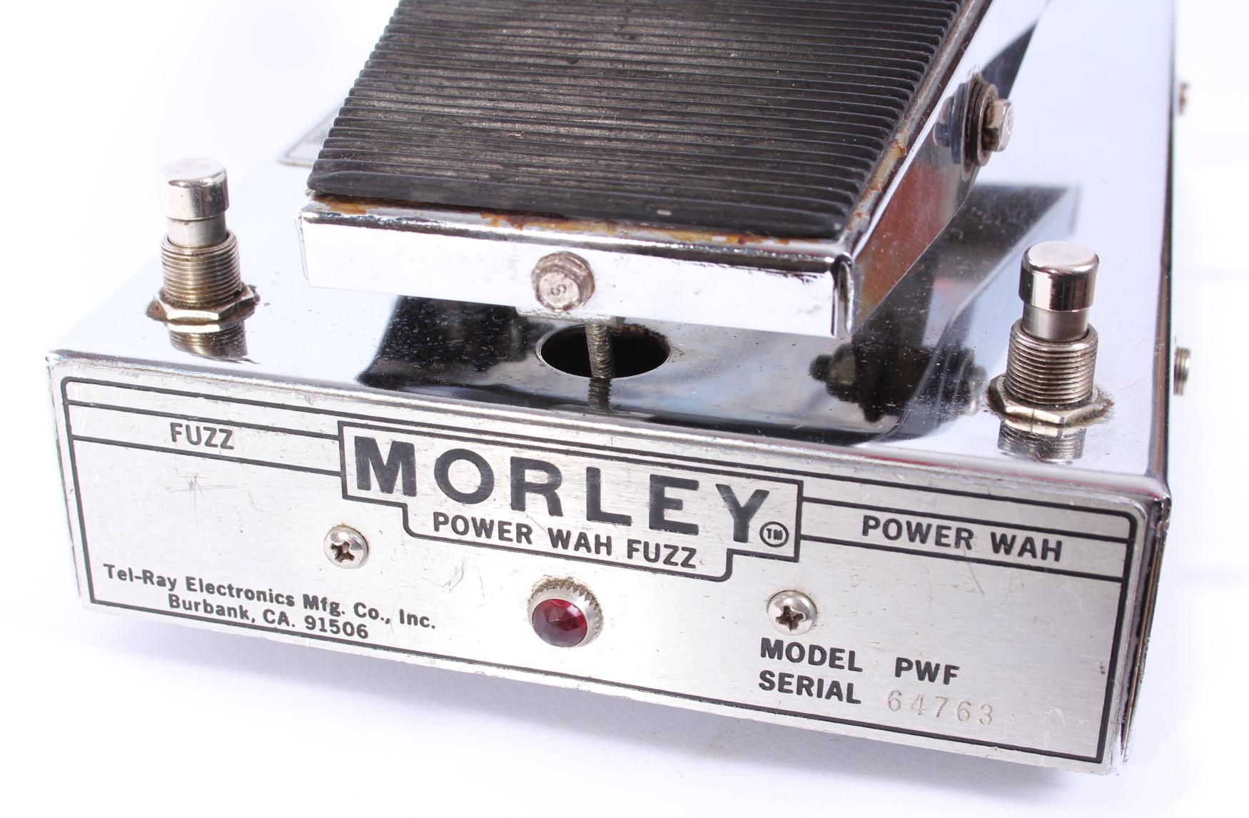 morley power wah fuzz 1970 chrome effect for sale yeahman 39 s guitars. Black Bedroom Furniture Sets. Home Design Ideas