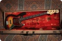 Fender Jazz Bass 1962 3 Tone Sunburst