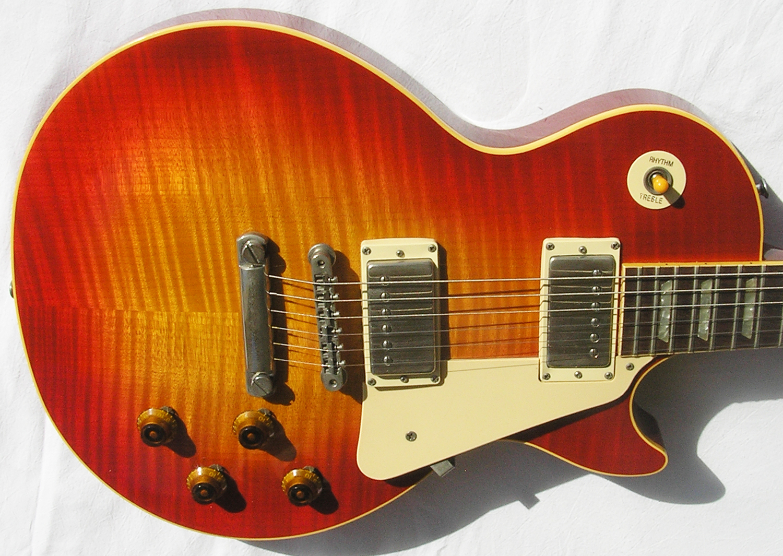gibson les paul standard leo 1983 sunburst guitar for sale spc guitars. Black Bedroom Furniture Sets. Home Design Ideas