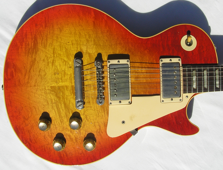 gibson les paul standard 1960 sunburst guitar for sale spc guitars. Black Bedroom Furniture Sets. Home Design Ideas