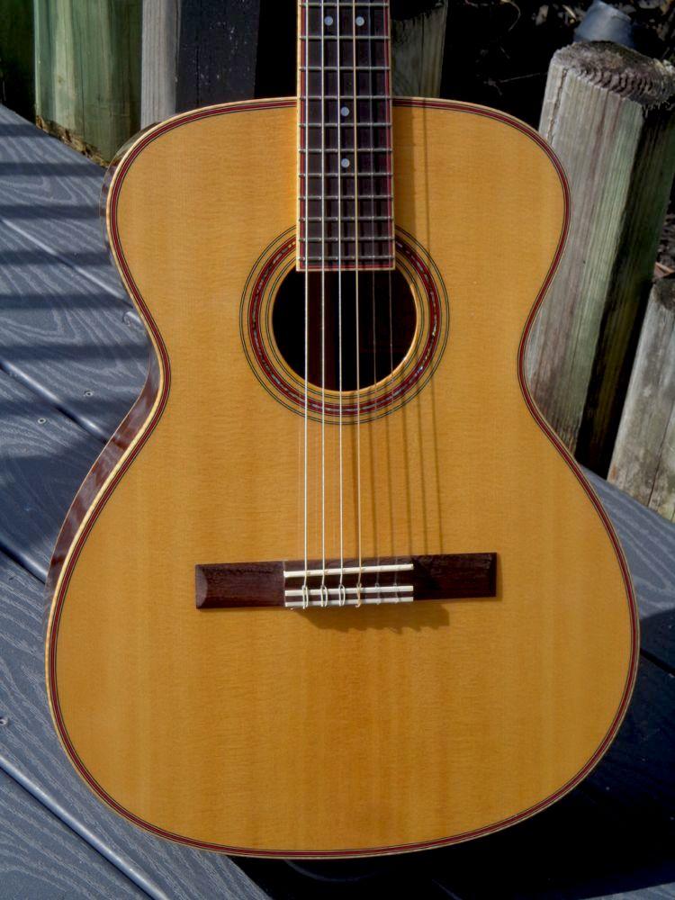 C Fox Guitar For Sale CFOX Concert Sierra  Nylon OM