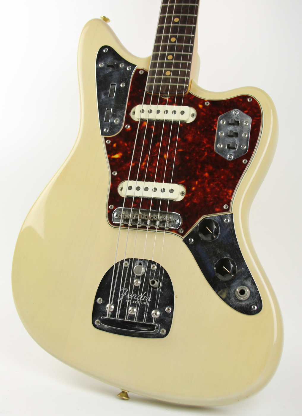 fender jaguar 1963 blonde guitar for sale thunder road guitars. Black Bedroom Furniture Sets. Home Design Ideas