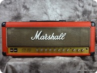 Marshall JCM 800 Halfstack 1986 Red