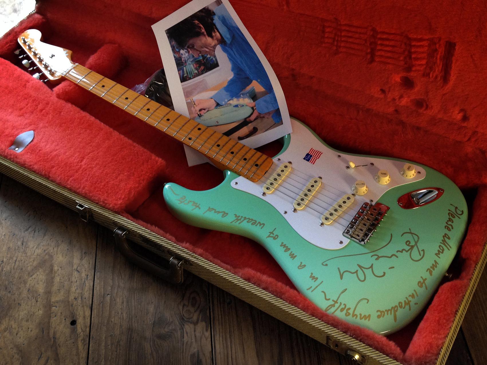 fender american vintage stratocaster 2010 surf green guitar for sale alleycat relics. Black Bedroom Furniture Sets. Home Design Ideas