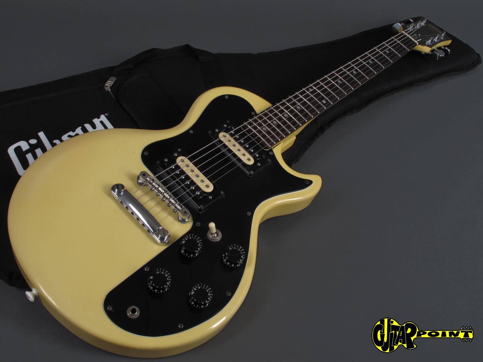 Gibson Sonex 180 Deluxe 1981 White Guitar For Sale GuitarPoint