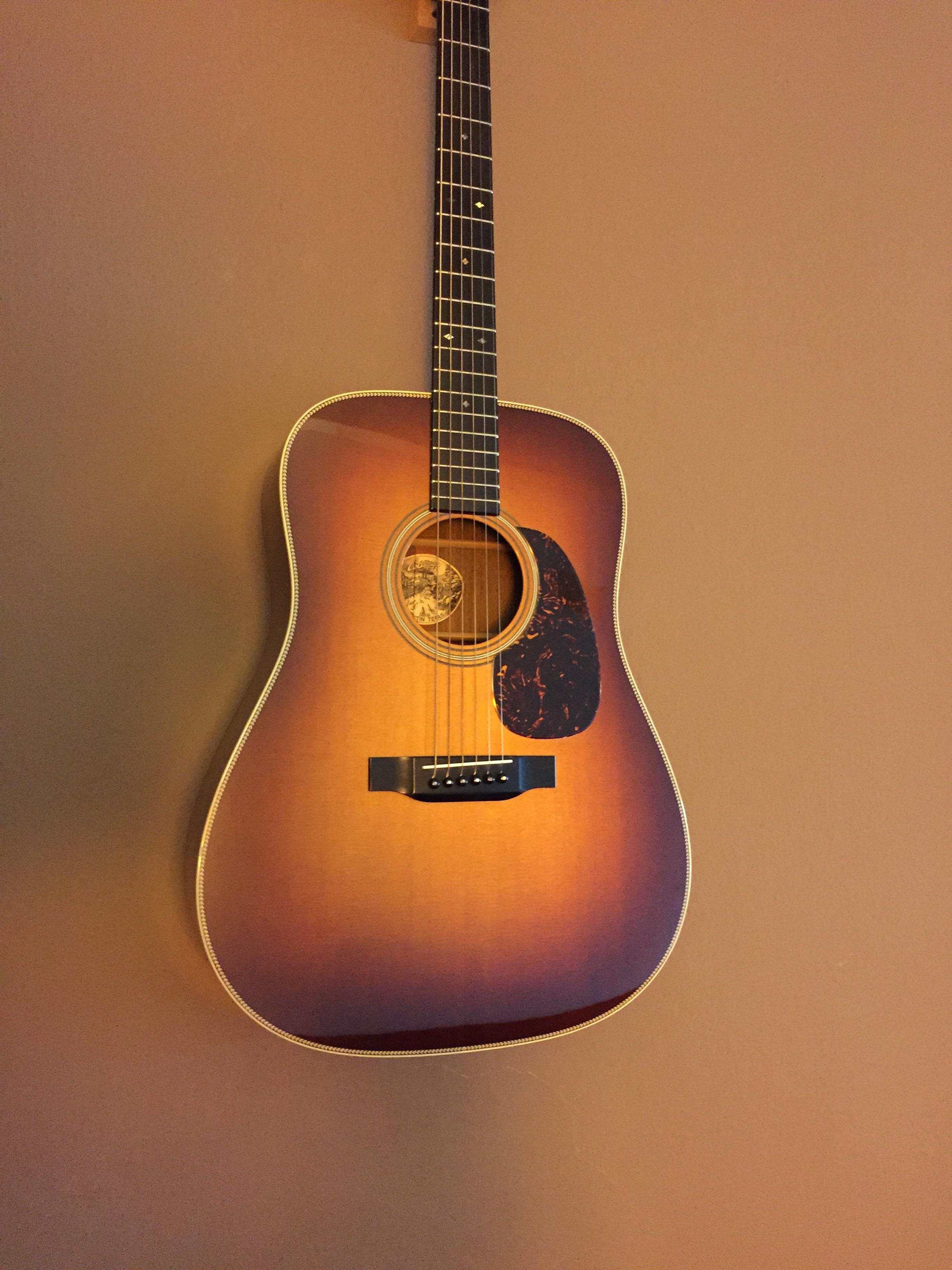 collings d2h sb 2005 sunurst guitar for sale the wooden. Black Bedroom Furniture Sets. Home Design Ideas