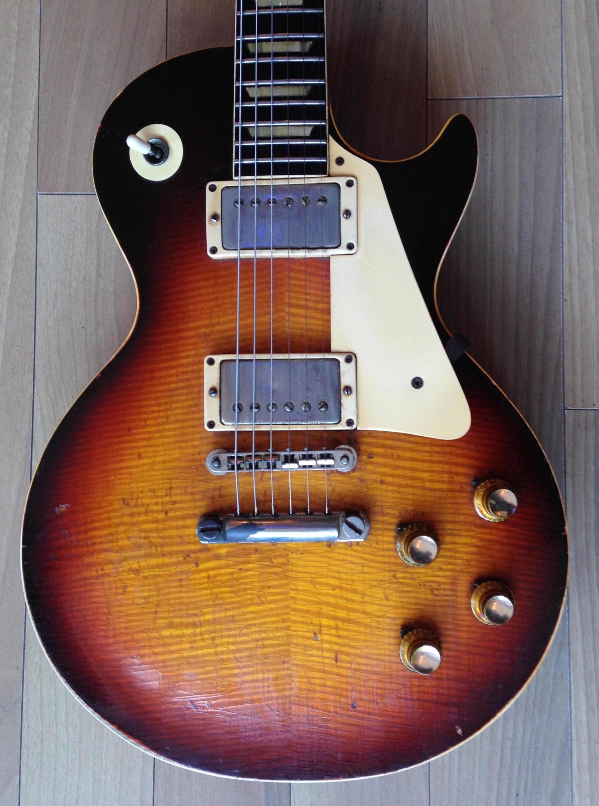 gibson les paul standard the dutch burst 1960 dark burst guitar for sale richard henry guitars ltd. Black Bedroom Furniture Sets. Home Design Ideas