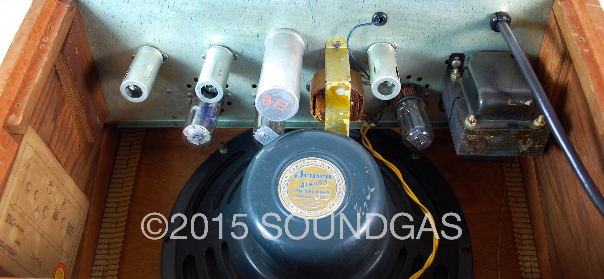 Vintage Magnatone Amplifier Schematic Automotive Wiring Diagram Troubadour Deluxe 1956 Amp For Sale Soundgas Ltd History