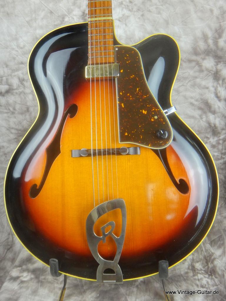 roger rossmeisl cutaway w  junior neck 1960 u0026 39 s sunburst guitar for sale vintage guitar oldenburg