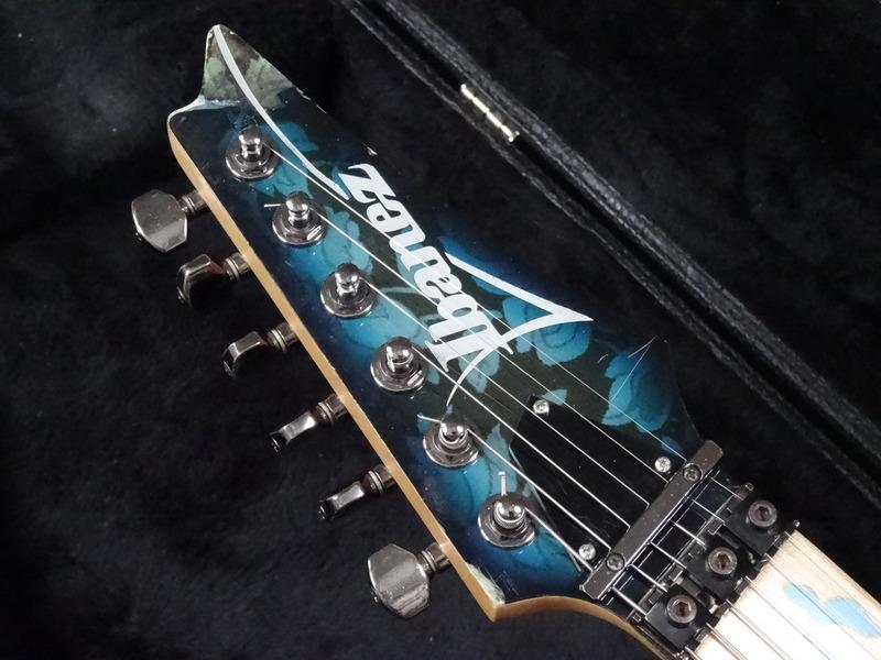 ibanez jem 77 bfp 1991 blue floral pattern guitar for sale rjv guitars. Black Bedroom Furniture Sets. Home Design Ideas