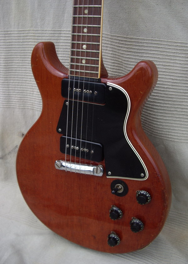 gibson les paul special double cut 1959 cherry guitar for sale hendrix guitars. Black Bedroom Furniture Sets. Home Design Ideas