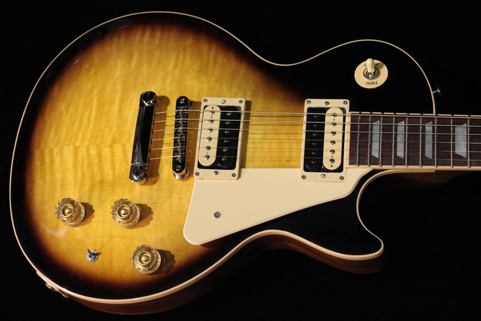 gibson usa gibson les paul classic 2015 vs sn 150036597 vintage sunburst guitar for sale gino. Black Bedroom Furniture Sets. Home Design Ideas