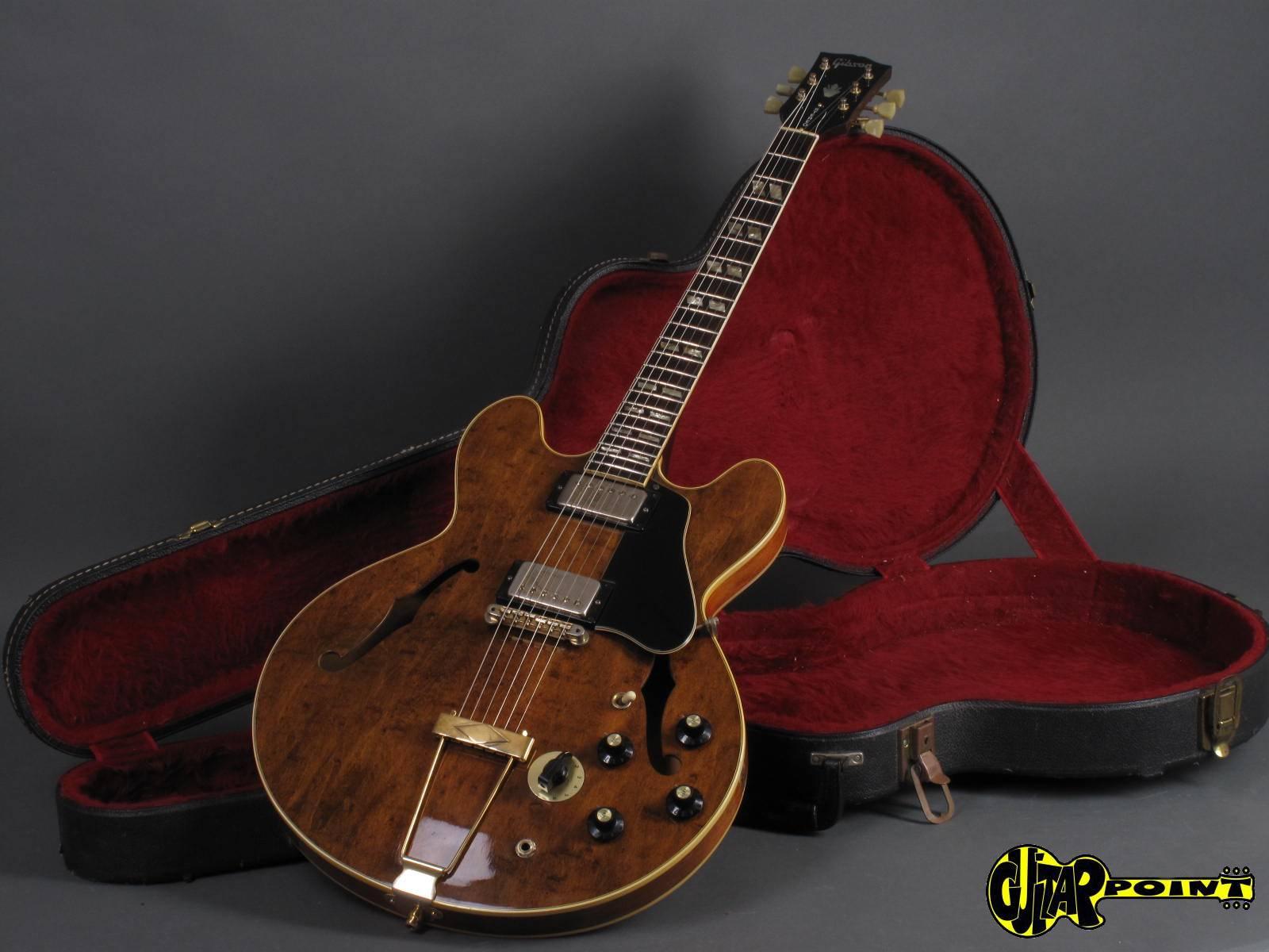 gibson es 345 td stereo 1974 walnut guitar for sale guitarpoint. Black Bedroom Furniture Sets. Home Design Ideas