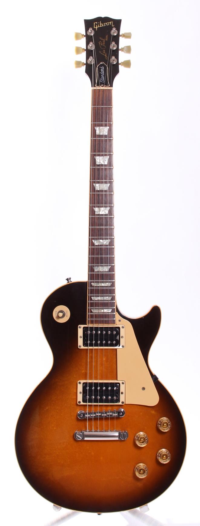 gibson les paul standard 1991 vintage sunburst guitar for sale yeahman 39 s guitars. Black Bedroom Furniture Sets. Home Design Ideas