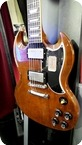 Gibson SG STANDARD LIGHTLY AGED BROWN CS 2015 Lightly Aged Brown