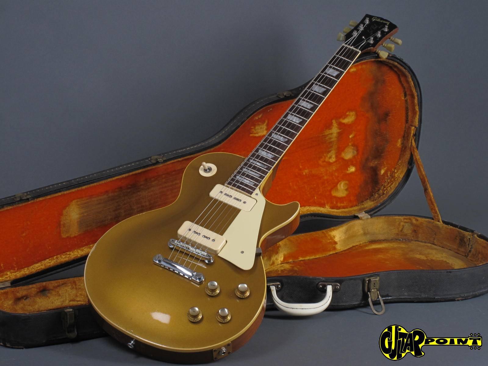 gibson les paul standard goldtop 1968 gold metallic guitar for sale guitarpoint. Black Bedroom Furniture Sets. Home Design Ideas