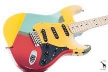 Fender Custom Crash Stratocaster 49 Of 50 Masterbuilt Todd Krause 2007 Crash Custom Painted