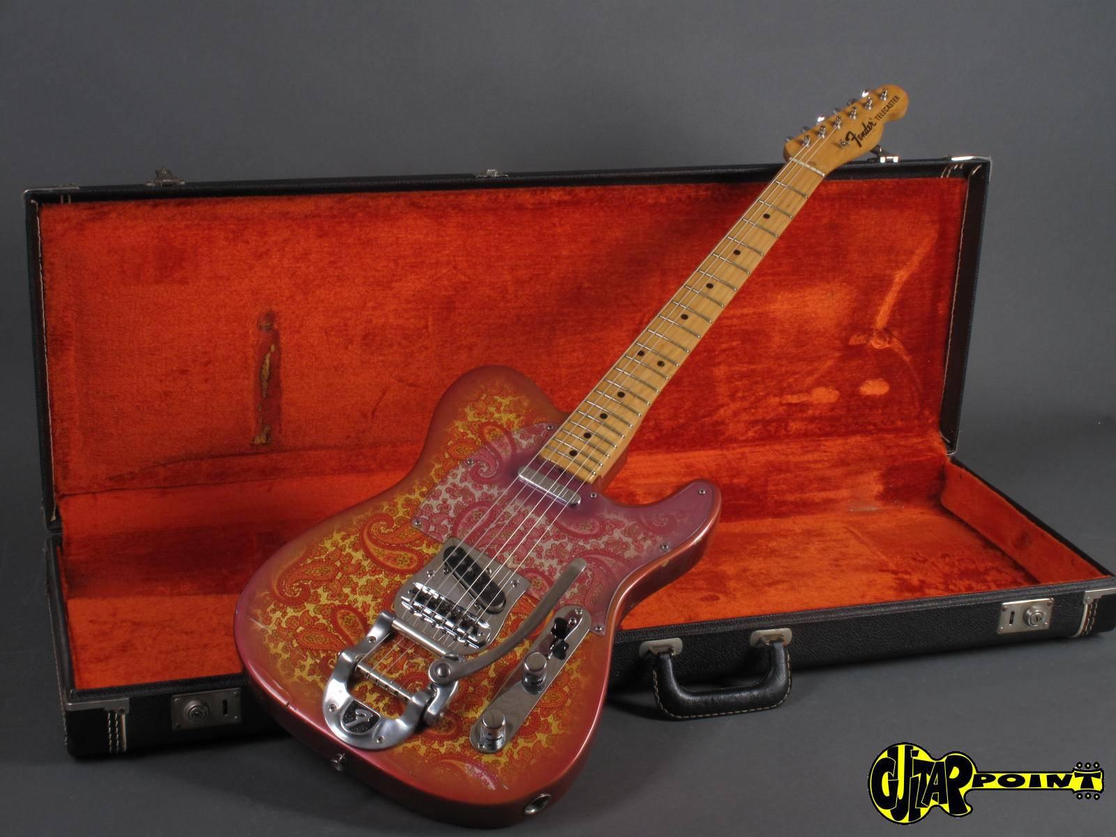 fender telecaster 1969 pink paisley guitar for sale guitarpoint. Black Bedroom Furniture Sets. Home Design Ideas
