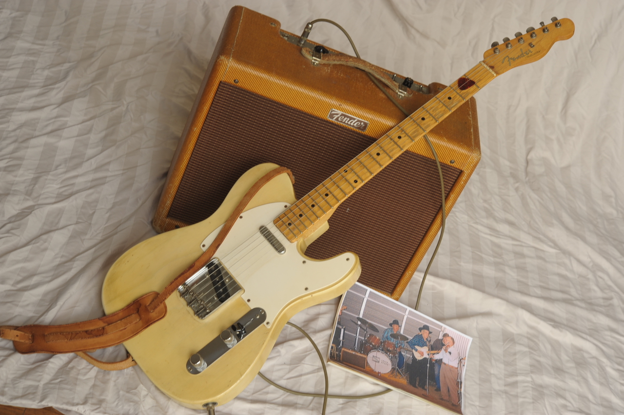 fender telecaster deluxe tweed amp 1956 blonde tweed guitar for sale atoyboy guitars. Black Bedroom Furniture Sets. Home Design Ideas