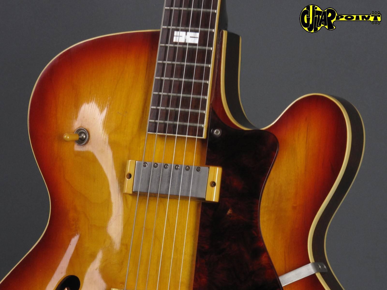 epiphone zephyr e312t 1958 sunburst guitar for sale guitarpoint. Black Bedroom Furniture Sets. Home Design Ideas