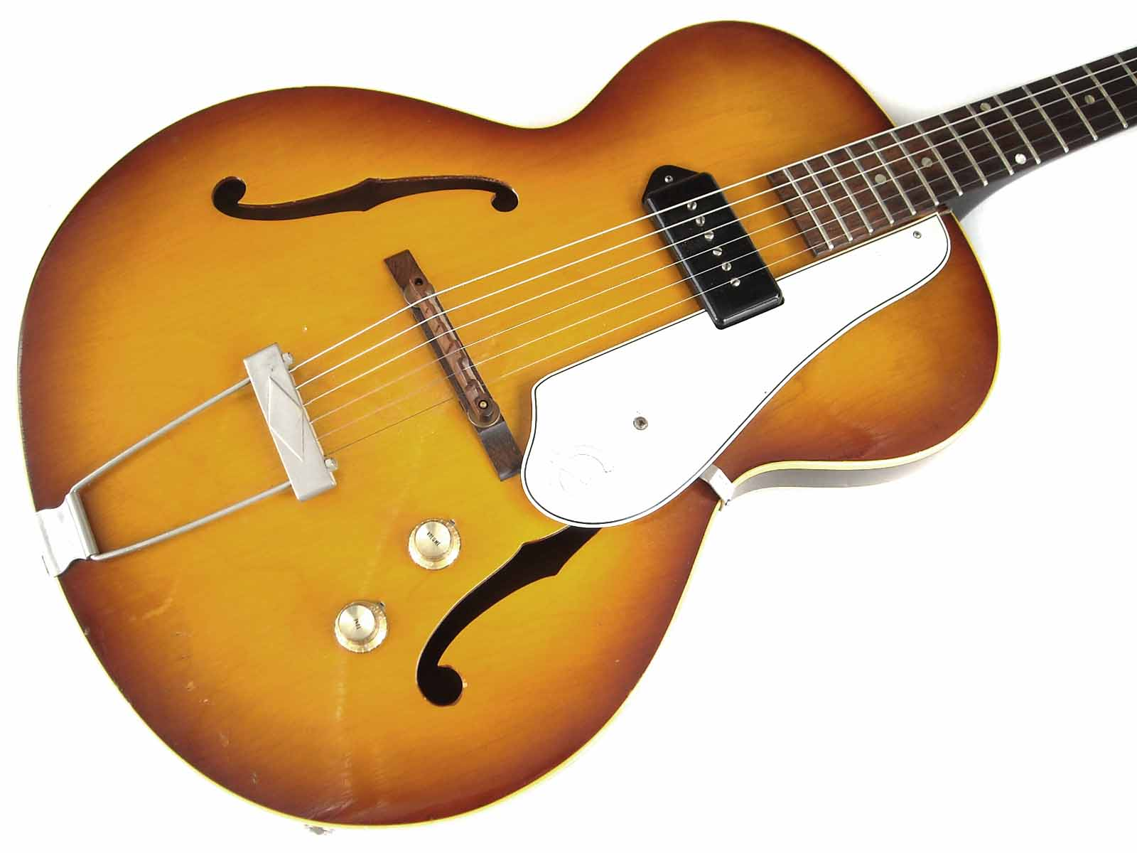 epiphone century 1965 sunburst guitar for sale wutzdog guitars. Black Bedroom Furniture Sets. Home Design Ideas