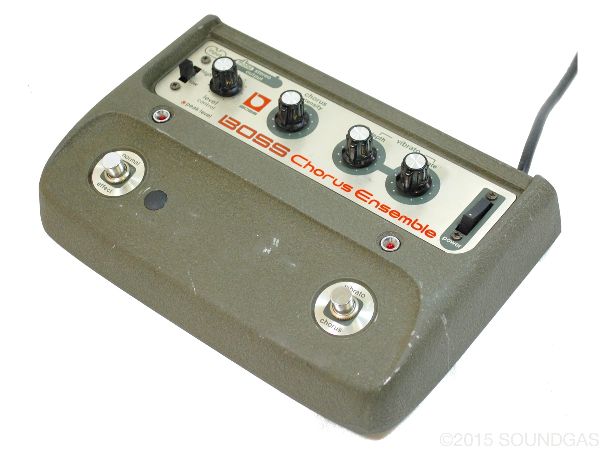 Dating vintage boss pedals