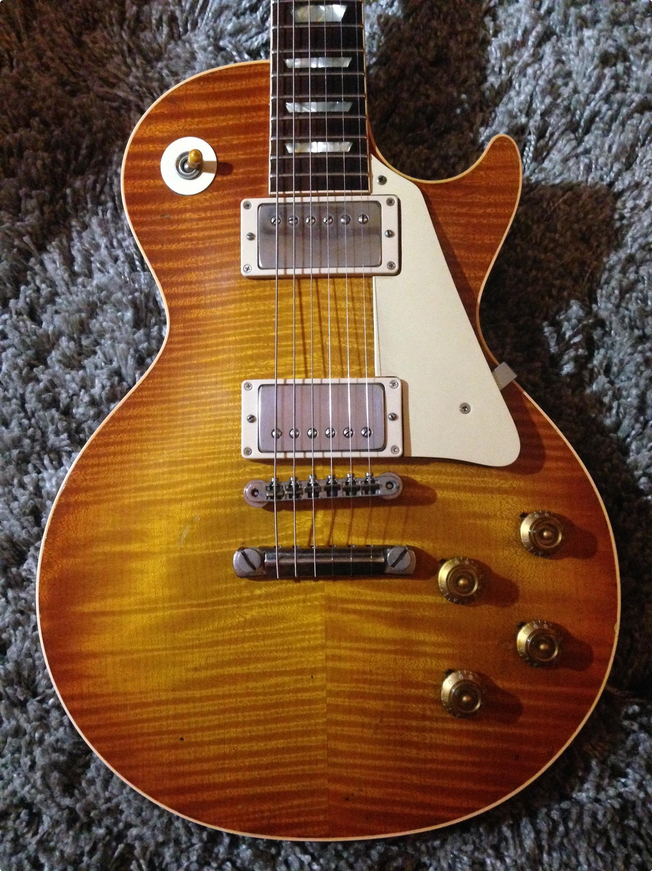 gibson 1959 les paul standard 1959 sunburst guitar for sale richard henry guitars ltd. Black Bedroom Furniture Sets. Home Design Ideas