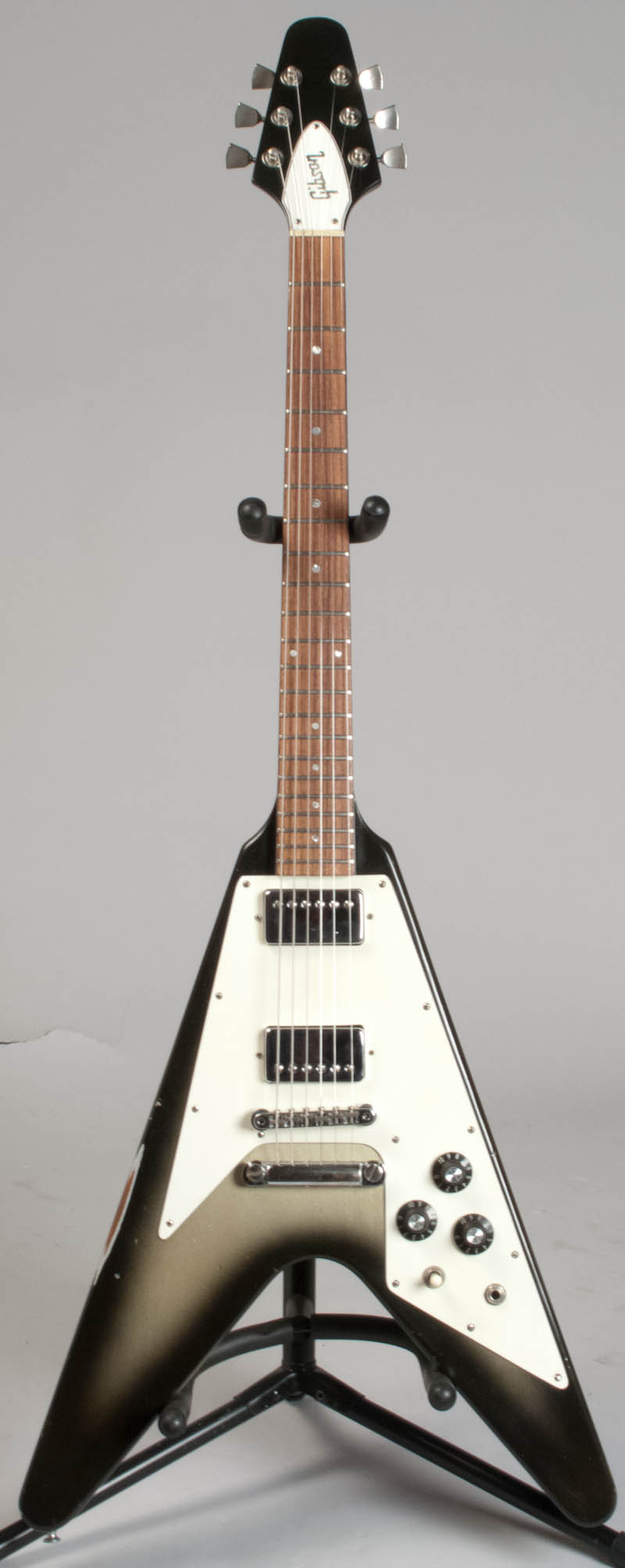 gibson flying v 1981 silverburst ref 00439 guitar for sale guitars west. Black Bedroom Furniture Sets. Home Design Ideas